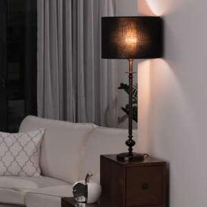 Lampa stołowa Chloe Black wys. 71,5m  29,5x29,5x71,5cm