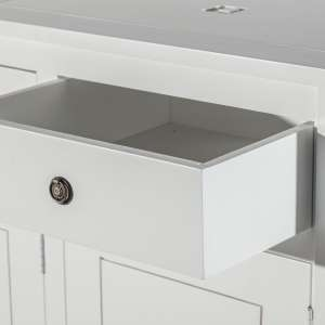 Komoda Noa white, 3drzwi + 3szuflady 150x50x100cm 150x50x100cm