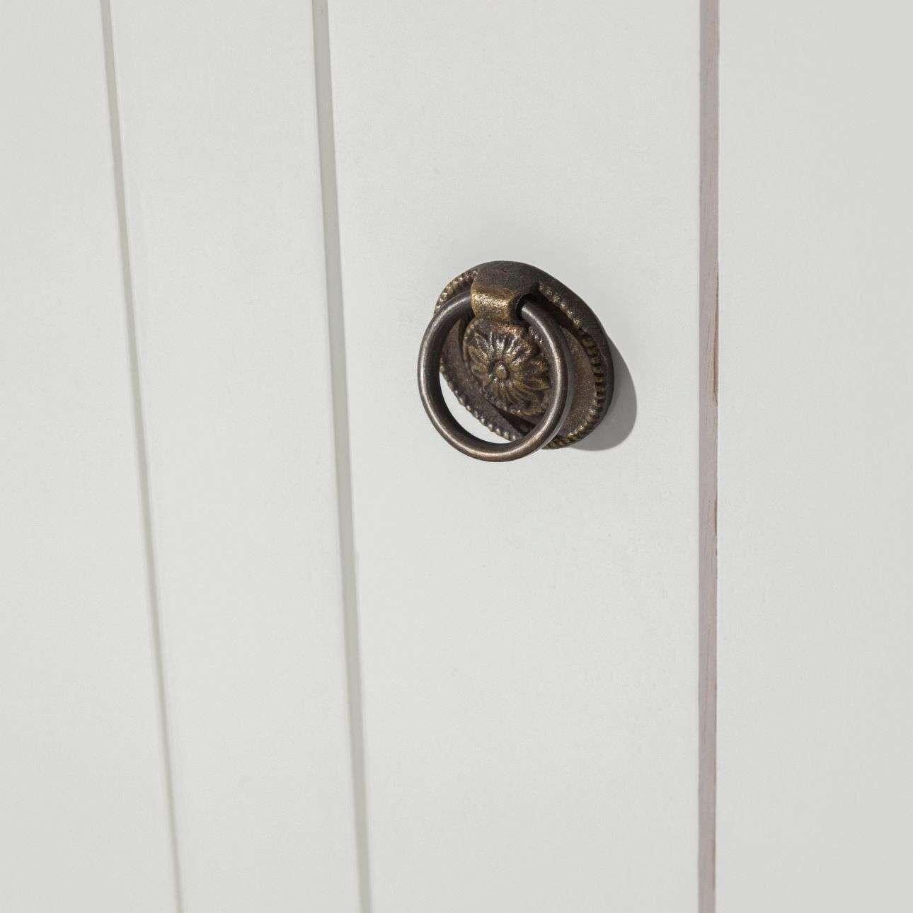 Kommode Noa white 3 Türen + 3 Schubladen 150x50x100cm