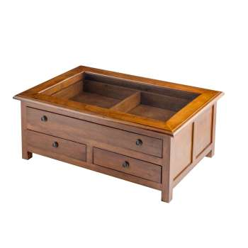Konferenční stolek  Mahika  95x60x40cm brown 95x60x40cm