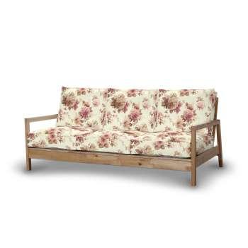 Pokrowiec na sofę Lillberg 3-osobową nierozkładaną w kolekcji Mirella, tkanina: 141-06