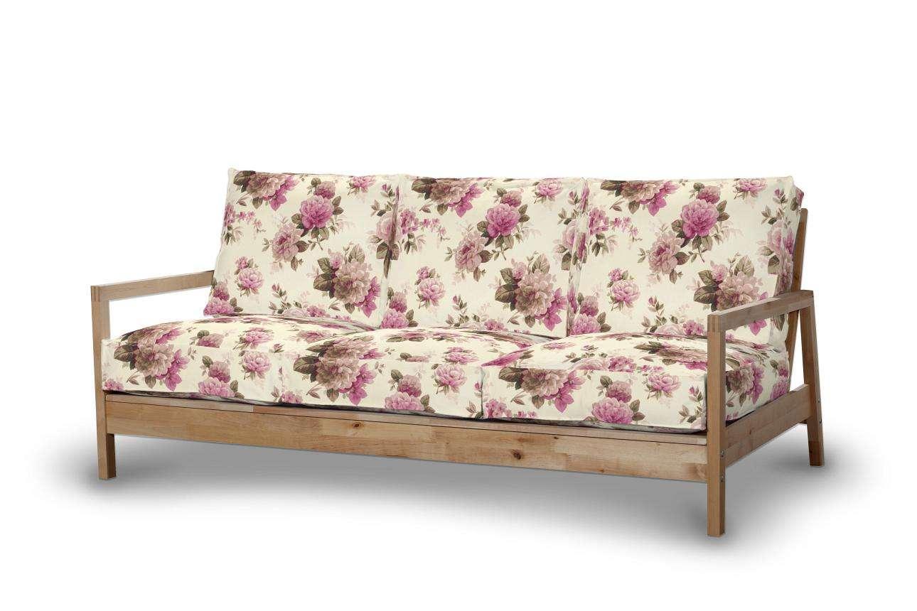 Pokrowiec na sofę Lillberg 3-osobową nierozkładaną Sofa Lillberg 3-osobowa w kolekcji Mirella, tkanina: 141-07