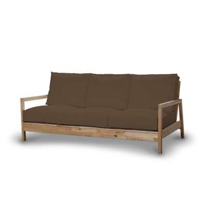 Pokrowiec na sofę Lillberg 3-osobową nierozkładaną w kolekcji Cotton Panama, tkanina: 702-02