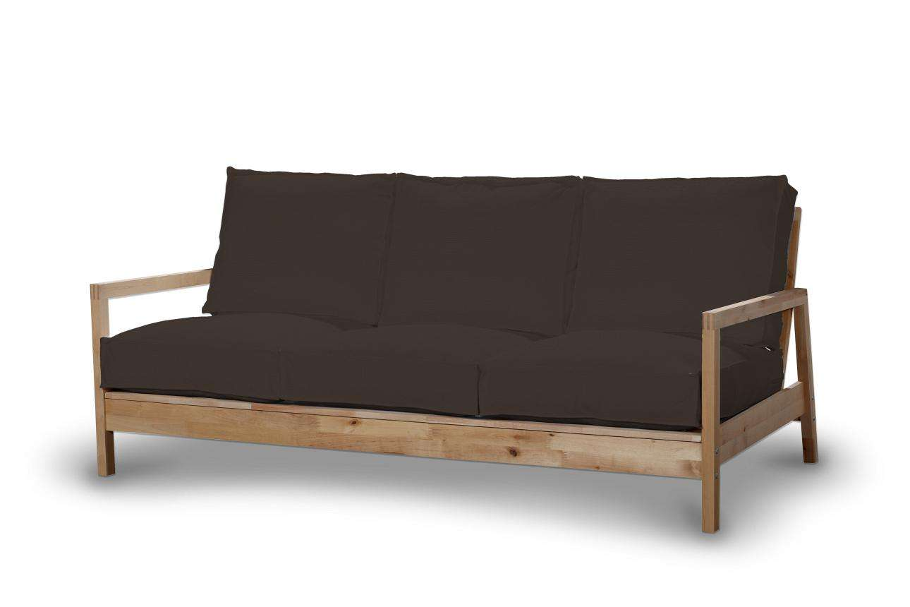 Pokrowiec na sofę Lillberg 3-osobową nierozkładaną Sofa Lillberg 3-osobowa w kolekcji Cotton Panama, tkanina: 702-03