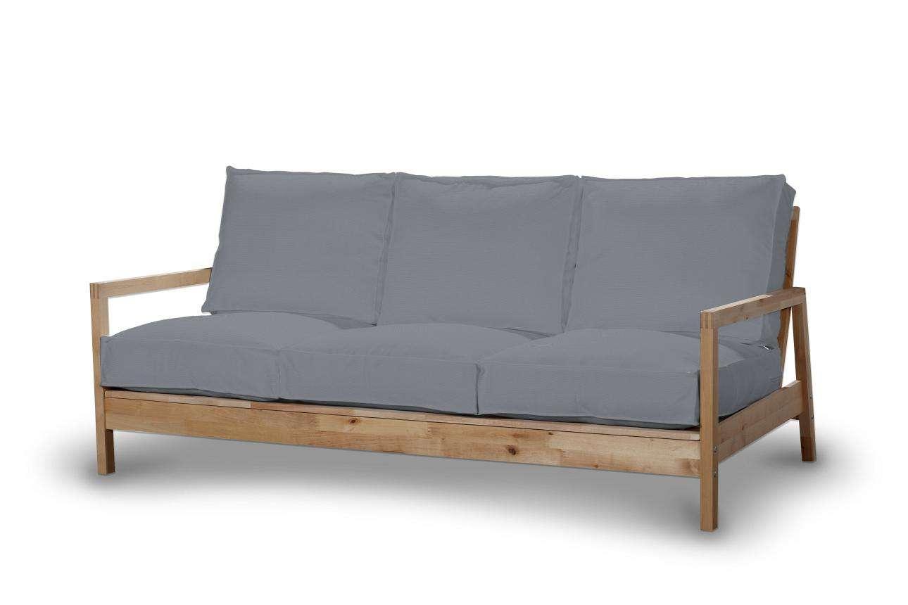 Pokrowiec na sofę Lillberg 3-osobową nierozkładaną Sofa Lillberg 3-osobowa w kolekcji Cotton Panama, tkanina: 702-07