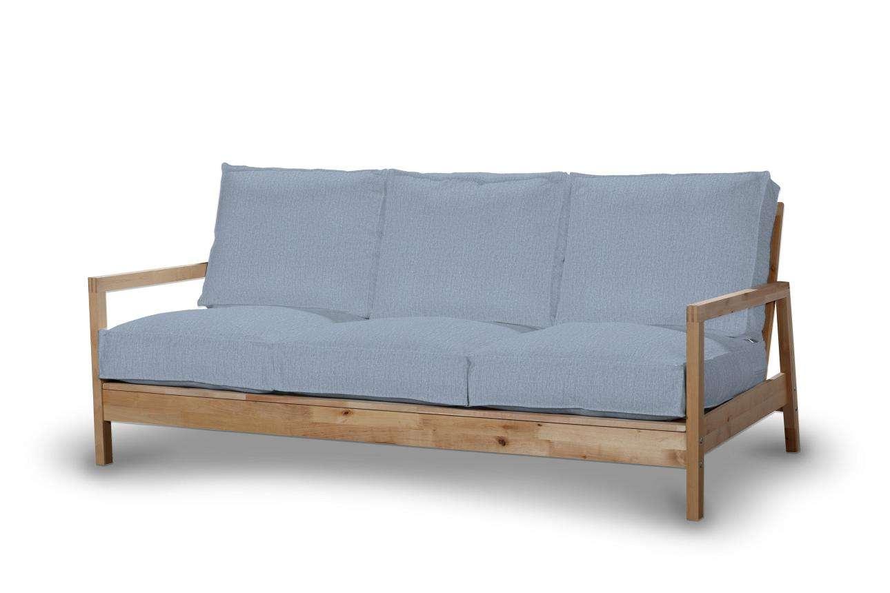 Pokrowiec na sofę Lillberg 3-osobową nierozkładaną Sofa Lillberg 3-osobowa w kolekcji Chenille, tkanina: 702-13