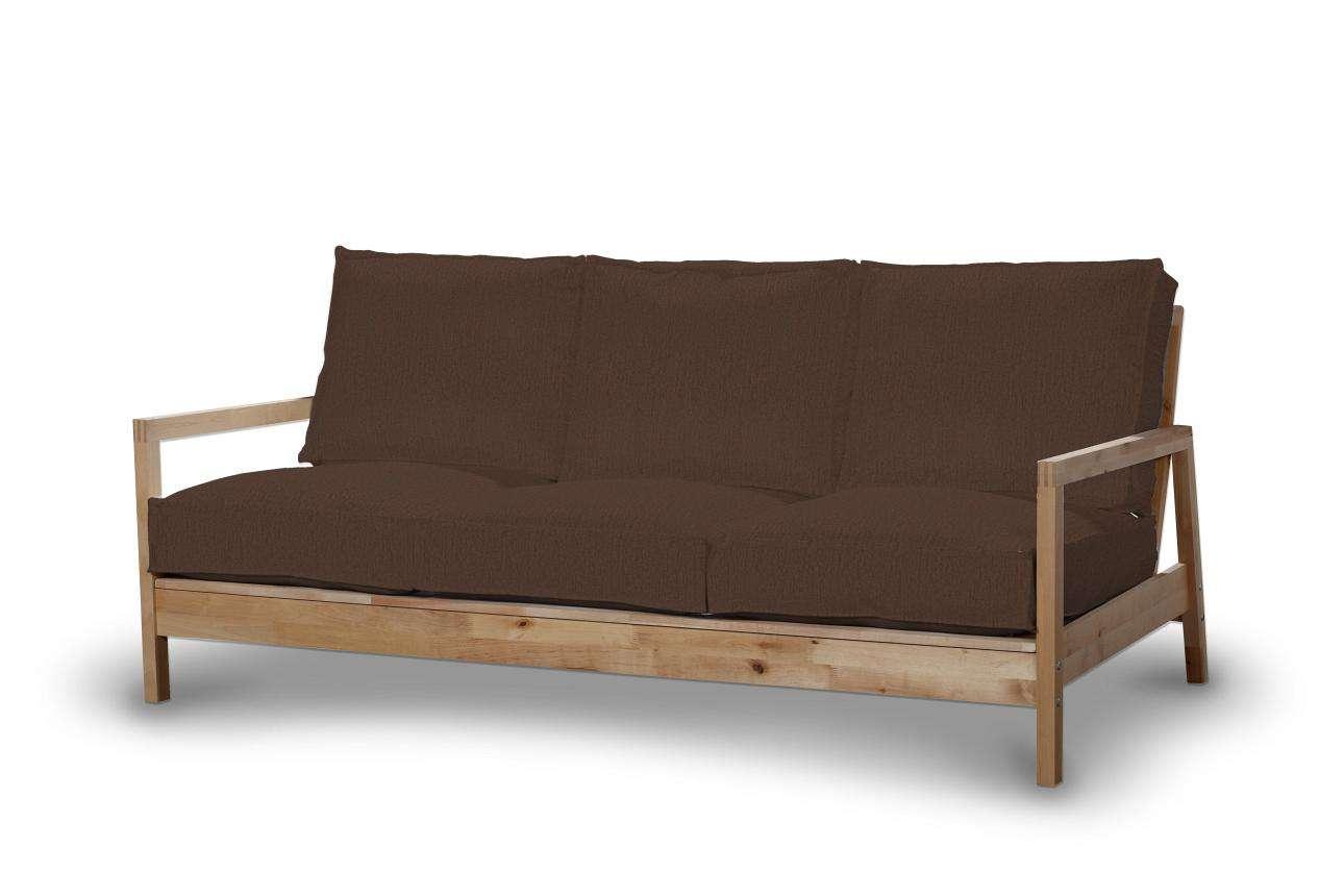 Pokrowiec na sofę Lillberg 3-osobową nierozkładaną w kolekcji Chenille, tkanina: 702-18
