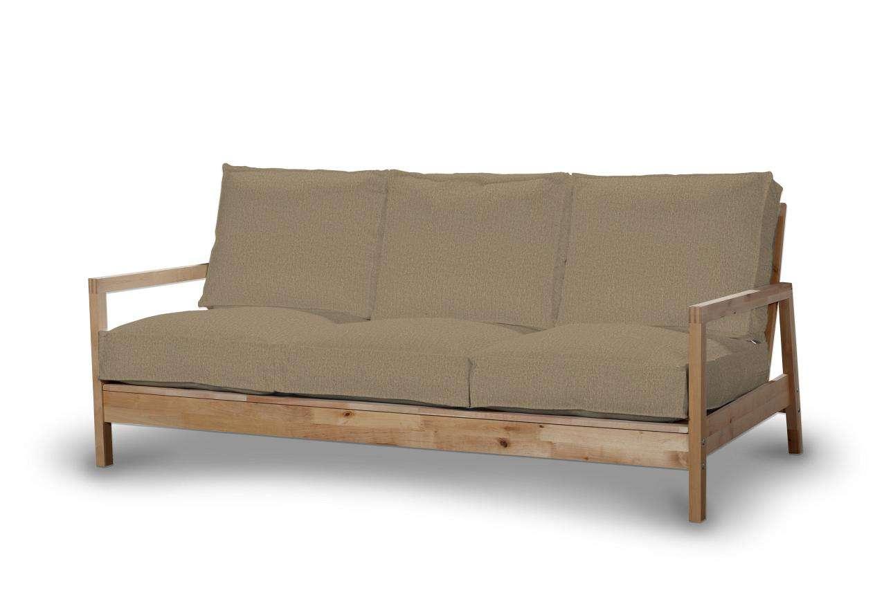 Pokrowiec na sofę Lillberg 3-osobową nierozkładaną w kolekcji Chenille, tkanina: 702-21