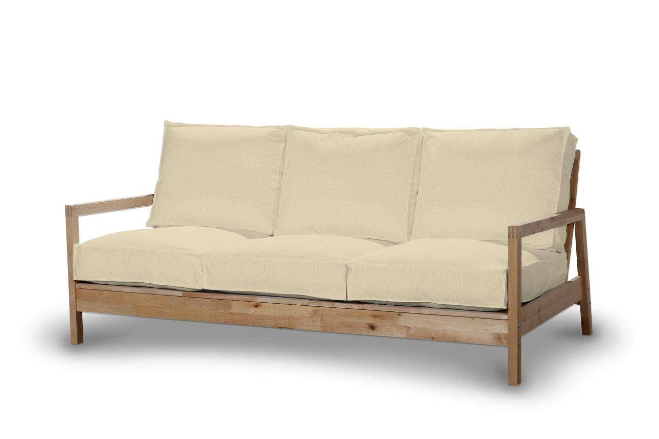 Pokrowiec na sofę Lillberg 3-osobową nierozkładaną w kolekcji Chenille, tkanina: 702-22