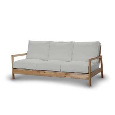 Pokrowiec na sofę Lillberg 3-osobową nierozkładaną w kolekcji Chenille, tkanina: 702-23