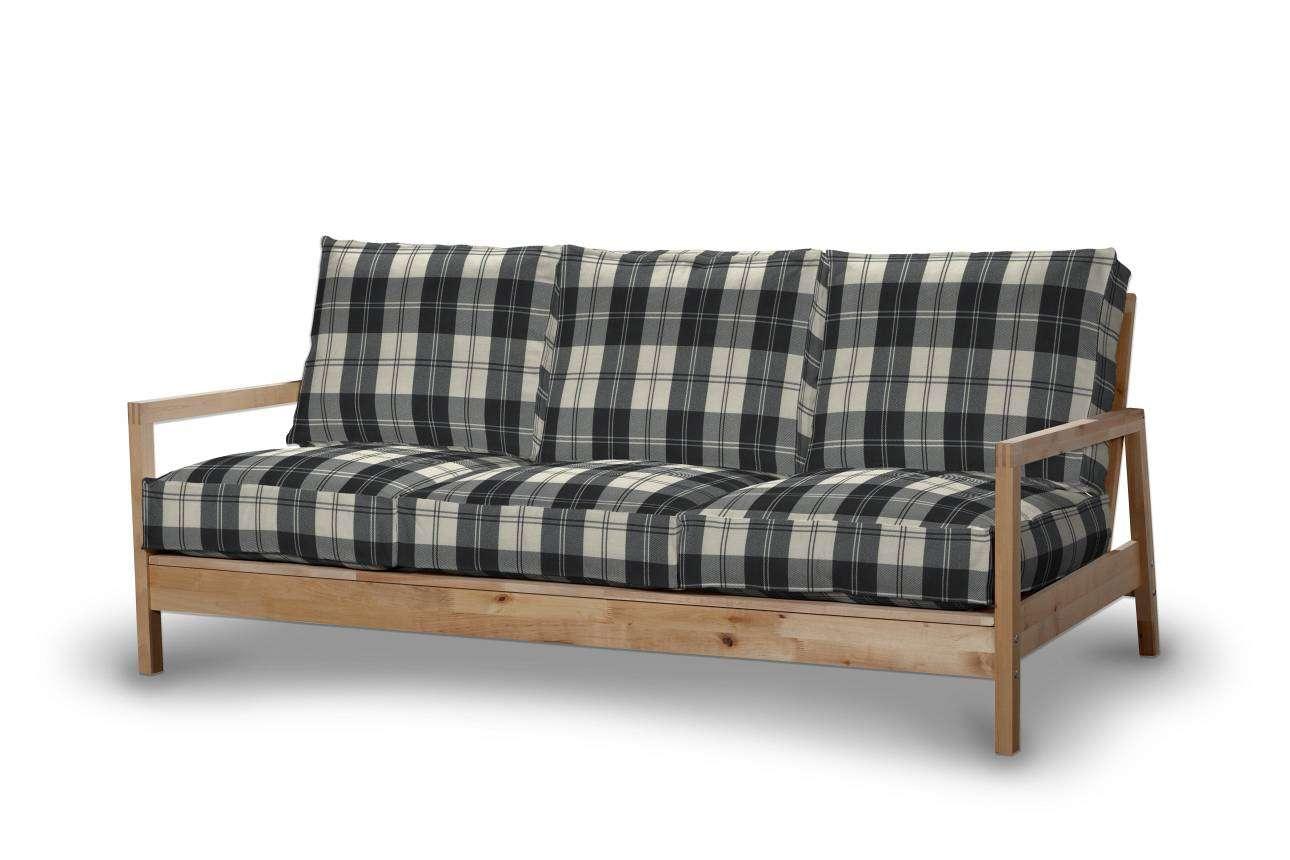 Pokrowiec na sofę Lillberg 3-osobową nierozkładaną Sofa Lillberg 3-osobowa w kolekcji Edinburgh, tkanina: 115-74