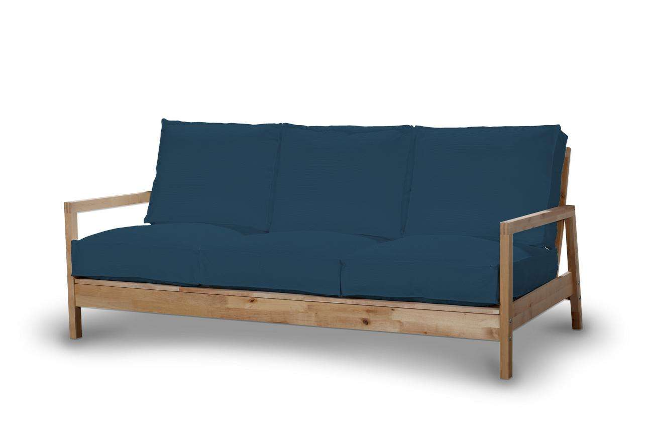 Pokrowiec na sofę Lillberg 3-osobową nierozkładaną Sofa Lillberg 3-osobowa w kolekcji Cotton Panama, tkanina: 702-30