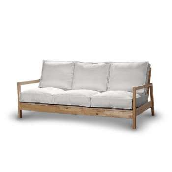 Pokrowiec na sofę Lillberg 3-osobową nierozkładaną w kolekcji Cotton Panama, tkanina: 702-34