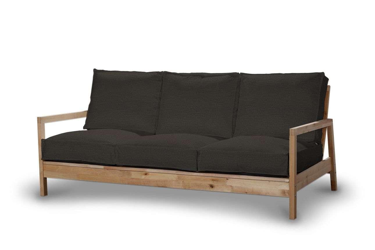 Pokrowiec na sofę Lillberg 3-osobową nierozkładaną w kolekcji Etna, tkanina: 702-36