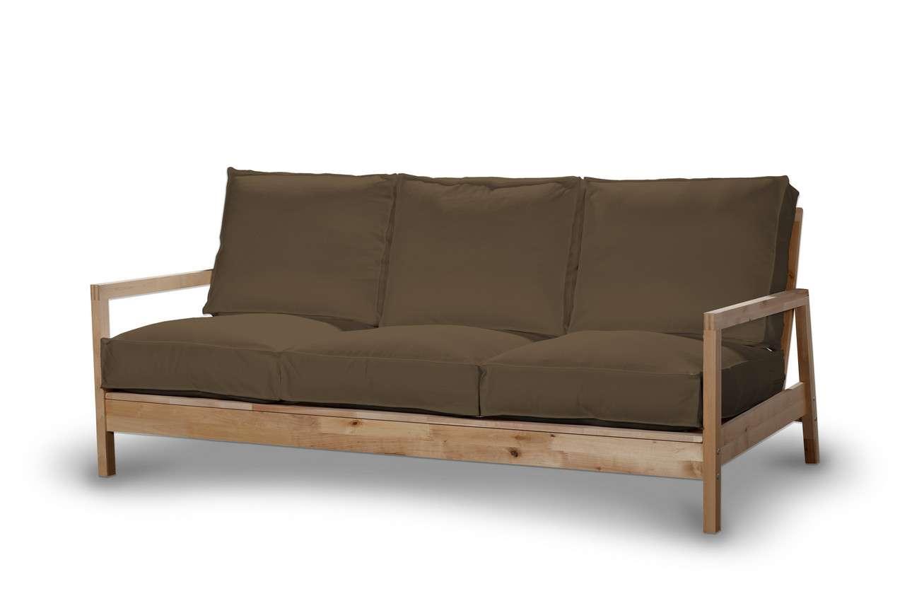 Pokrowiec na sofę Lillberg 3-osobową nierozkładaną w kolekcji Living II, tkanina: 160-94