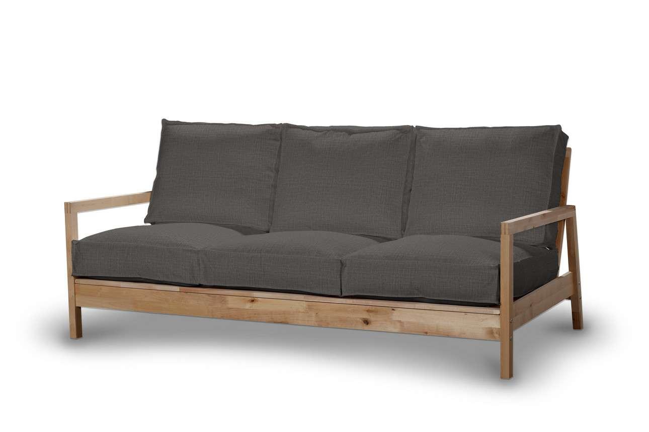 Pokrowiec na sofę Lillberg 3-osobową nierozkładaną w kolekcji Living, tkanina: 161-16