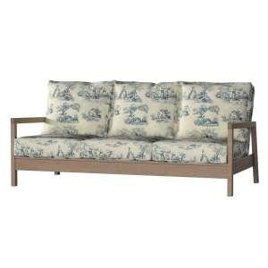 Lillberg 3-Sitzer Sofabezug Sofahusse, Lillberg 3-Sitzer von der Kollektion Avinon, Stoff: 132-66
