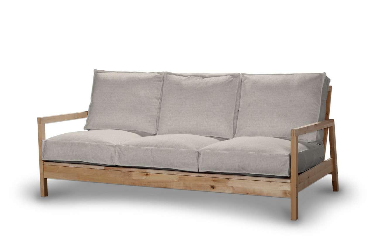 Pokrowiec na sofę Lillberg 3-osobową nierozkładaną w kolekcji Living II, tkanina: 161-00