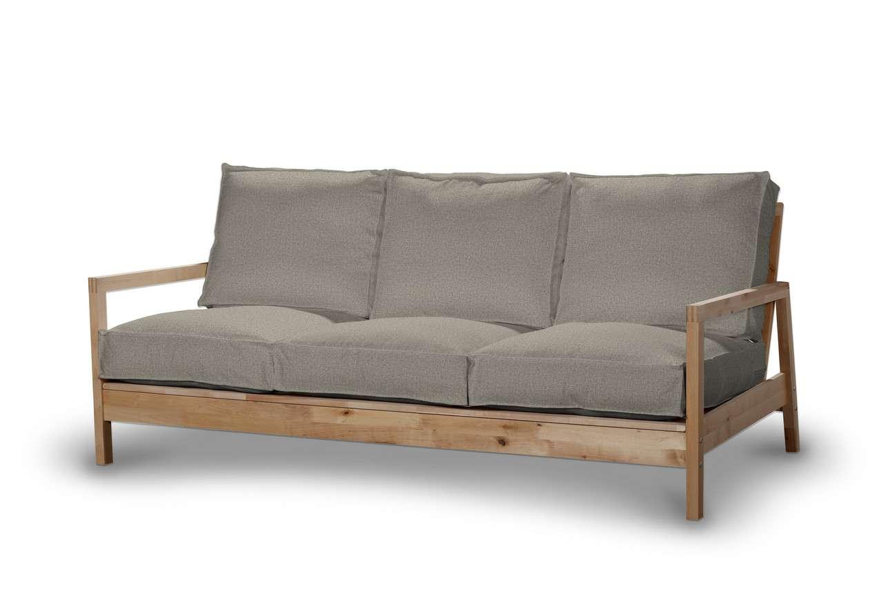 Pokrowiec na sofę Lillberg 3-osobową nierozkładaną w kolekcji Madrid, tkanina: 161-23
