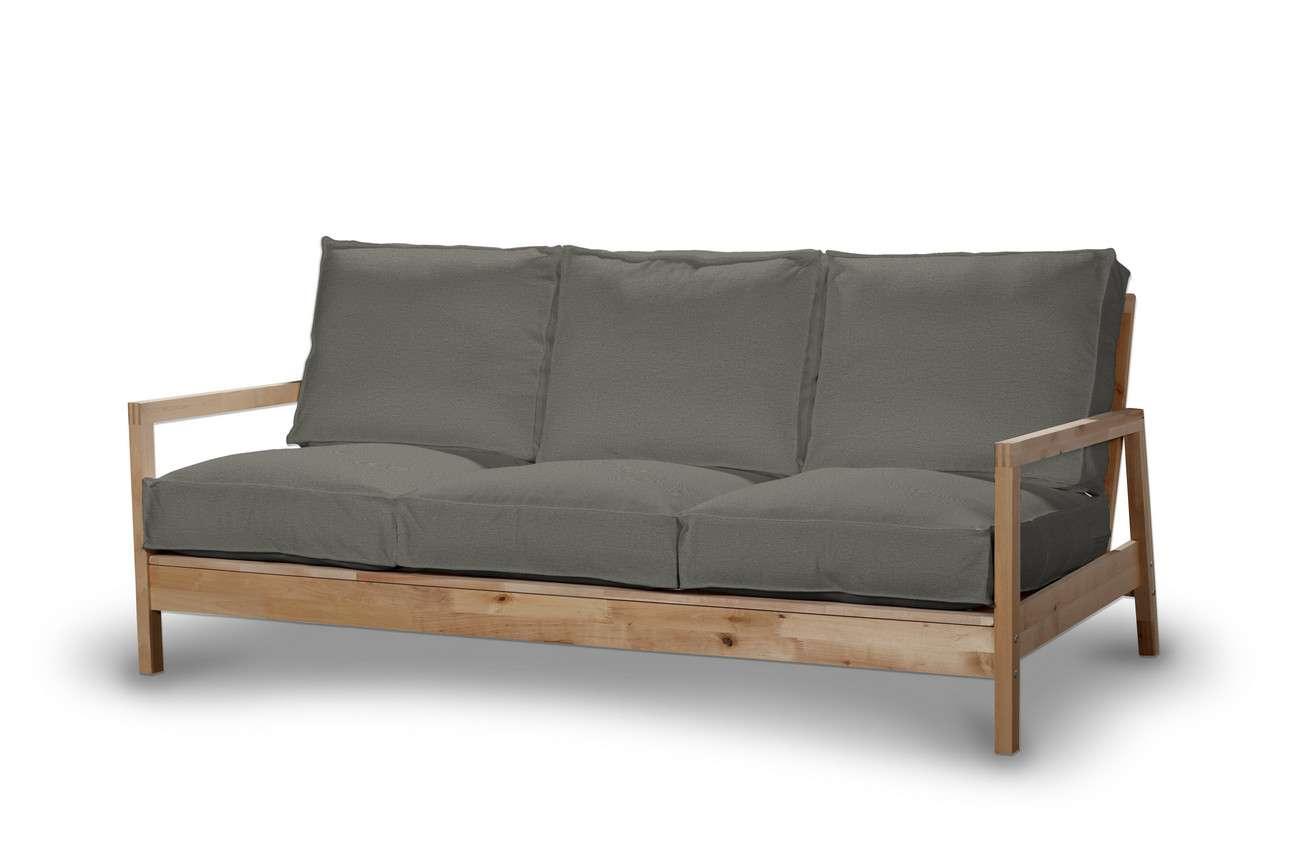 Pokrowiec na sofę Lillberg 3-osobową nierozkładaną w kolekcji Etna, tkanina: 161-25