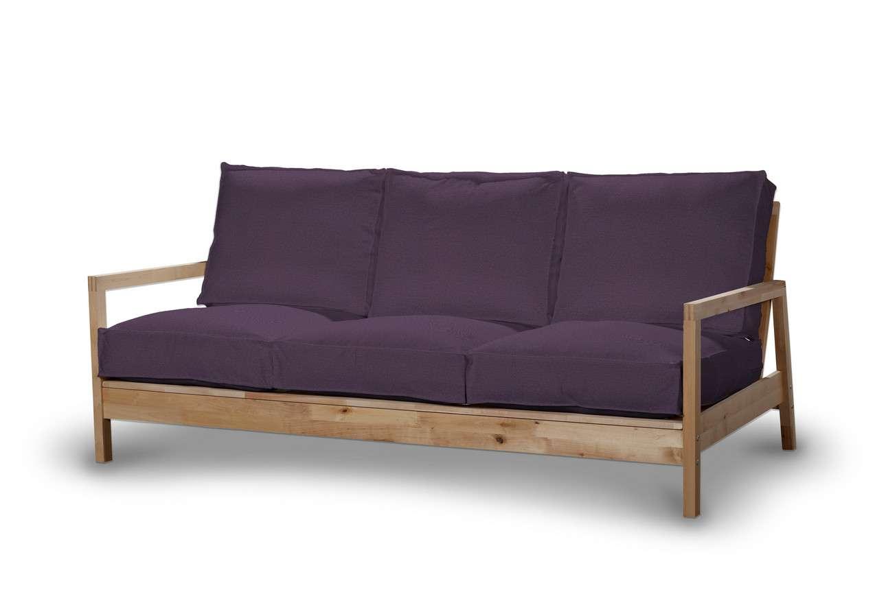 Pokrowiec na sofę Lillberg 3-osobową nierozkładaną w kolekcji Etna, tkanina: 161-27