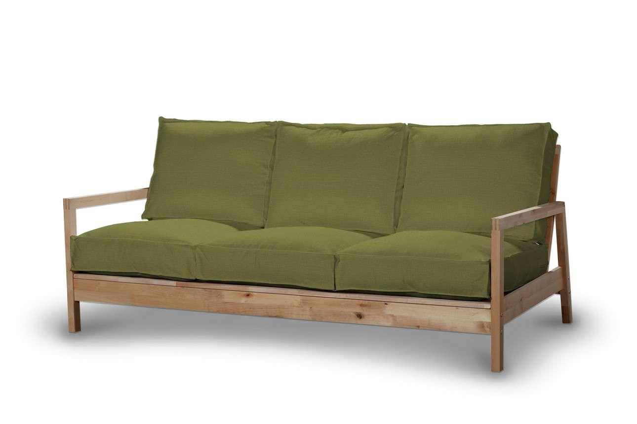 Pokrowiec na sofę Lillberg 3-osobową nierozkładaną w kolekcji Living, tkanina: 161-13