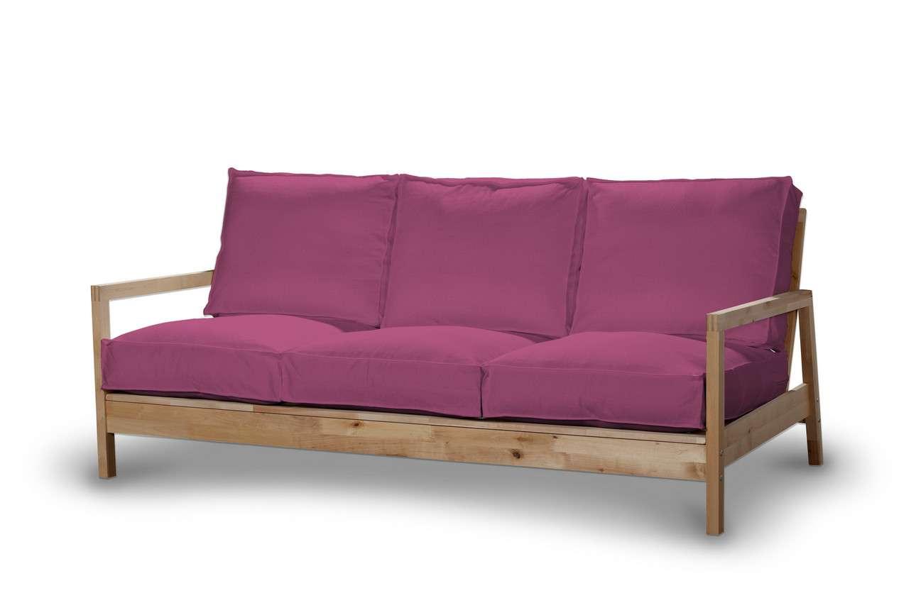 Pokrowiec na sofę Lillberg 3-osobową nierozkładaną w kolekcji Living, tkanina: 161-29