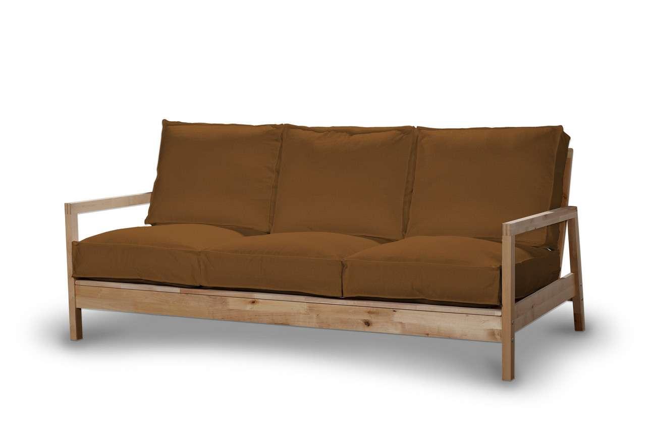 Pokrowiec na sofę Lillberg 3-osobową nierozkładaną w kolekcji Living, tkanina: 161-28