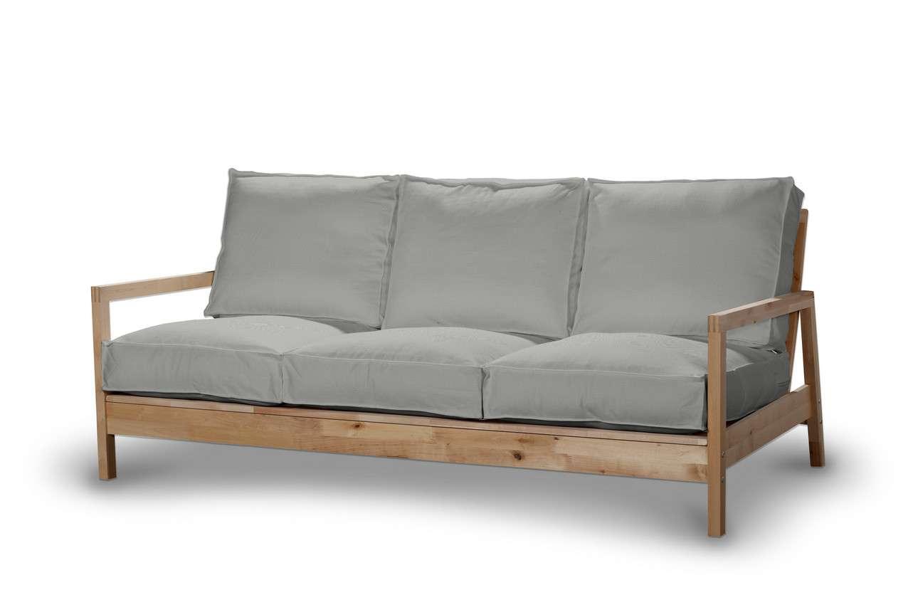 Pokrowiec na sofę Lillberg 3-osobową nierozkładaną w kolekcji Bergen, tkanina: 161-72