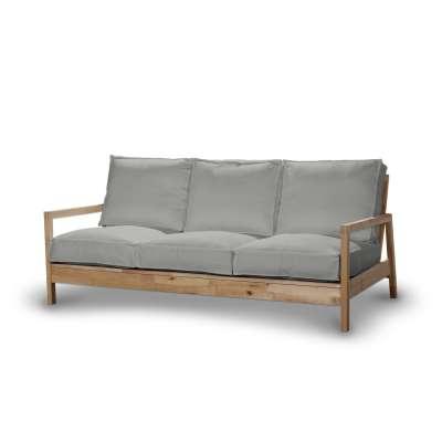 Pokrowiec na sofę Lillberg 3-osobową nierozkładaną 161-72 srebrzysty szary Kolekcja Bergen