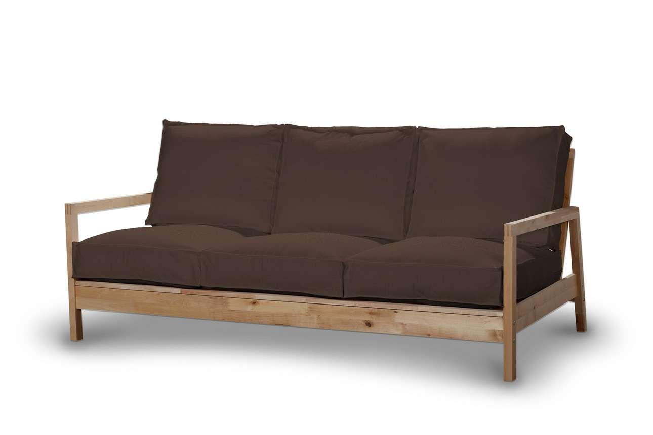 Pokrowiec na sofę Lillberg 3-osobową nierozkładaną w kolekcji Bergen, tkanina: 161-73