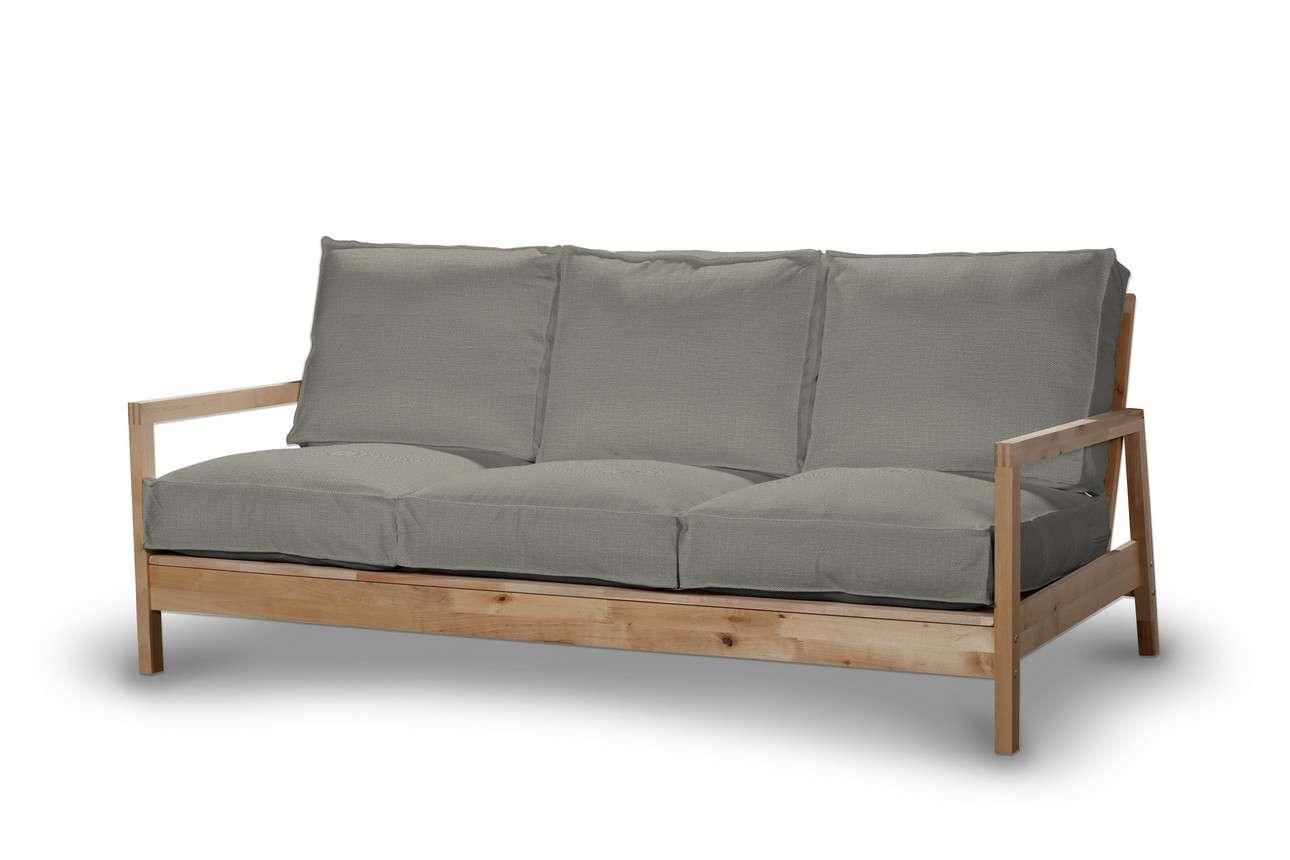 Pokrowiec na sofę Lillberg 3-osobową nierozkładaną w kolekcji Bergen, tkanina: 161-83
