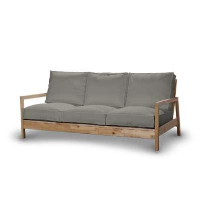 Pokrowiec na sofę Lillberg 3-osobową nierozkładaną 161-83 jasno szara jodełka Kolekcja Bergen