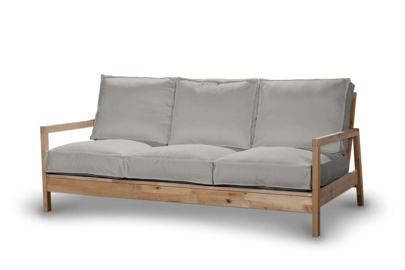 Pokrowiec na sofę Lillberg 3-osobową nierozkładaną w kolekcji Bergen, tkanina: 161-84