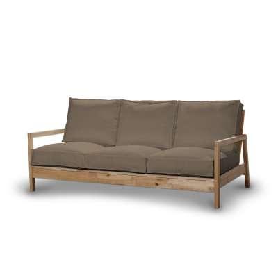 Pokrowiec na sofę Lillberg 3-osobową nierozkładaną 161-85 beżowa jodełka Kolekcja Bergen
