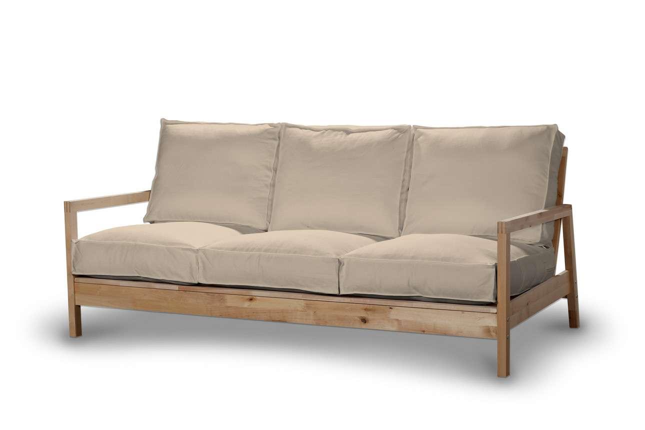 Pokrowiec na sofę Lillberg 3-osobową nierozkładaną w kolekcji Living, tkanina: 160-61