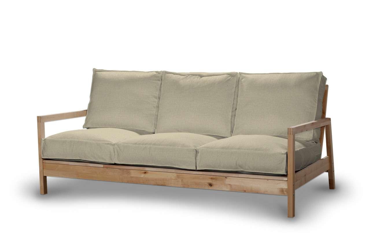 Pokrowiec na sofę Lillberg 3-osobową nierozkładaną w kolekcji Living, tkanina: 161-45