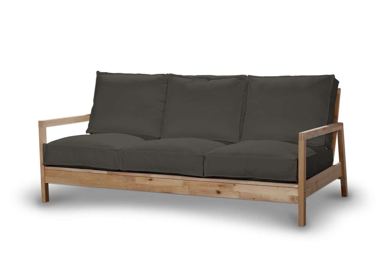 Pokrowiec na sofę Lillberg 3-osobową nierozkładaną w kolekcji Living, tkanina: 161-55