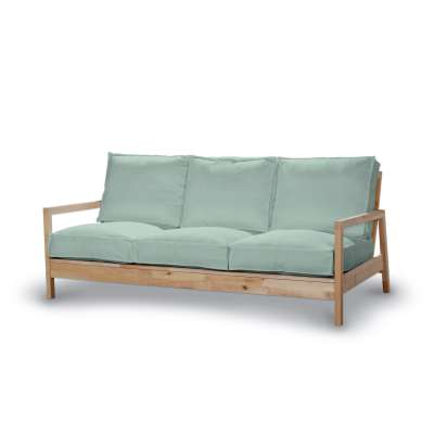 Pokrowiec na sofę Lillberg 3-osobową nierozkładaną w kolekcji Living, tkanina: 161-61