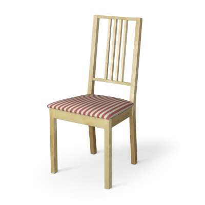 Poťah na stoličku Börje 136-17 červeno-biele prúžky Kolekcia Quadro