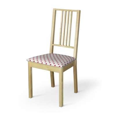 Börje kėdės užvalkalas 137-70 Raudoni apskritimai šviesiame fone Kolekcija Little World