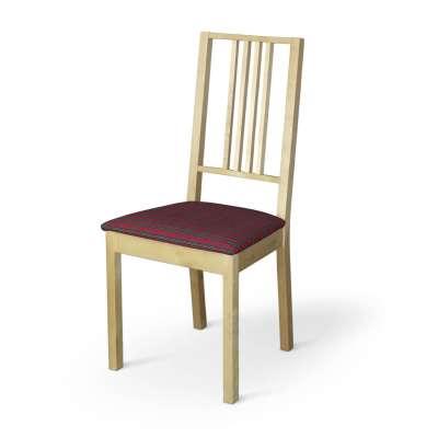 Pokrowiec na siedzisko Börje 126-29 czerwona kratka Kolekcja Bristol