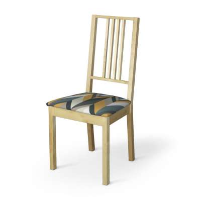 Börje chair seat pad cover 143-56 yellow-blue-beige Collection Vintage 70's