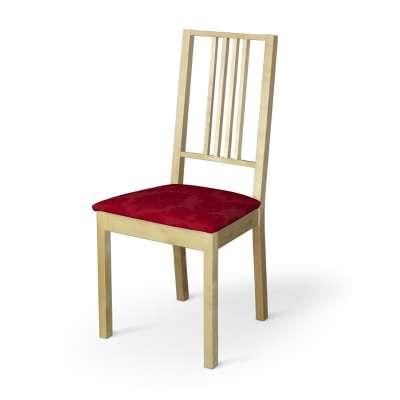 Poťah na stoličku Börje 613-13 bordová tkanina s vytkaným ornamentom  Kolekcia Damasco