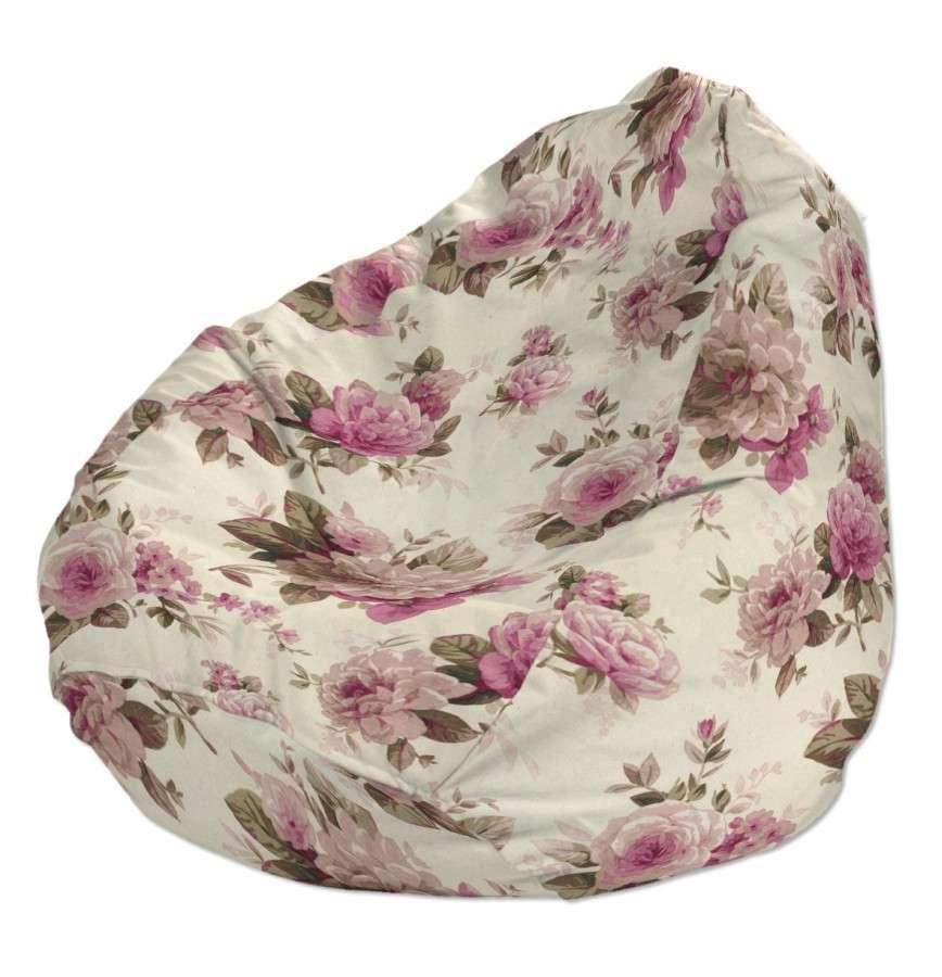 Pokrowiec na worek do siedzenia pokrowiec Ø50x85cm w kolekcji Mirella, tkanina: 141-07