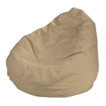 Pokrowiec na worek do siedzenia pokrowiec Ø50x85cm w kolekcji Cotton Panama, tkanina: 702-01