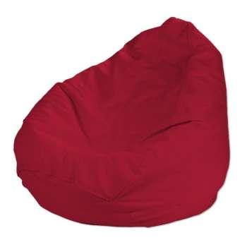 Pokrowiec na worek do siedzenia pokrowiec Ø50x85cm w kolekcji Cotton Panama, tkanina: 702-04