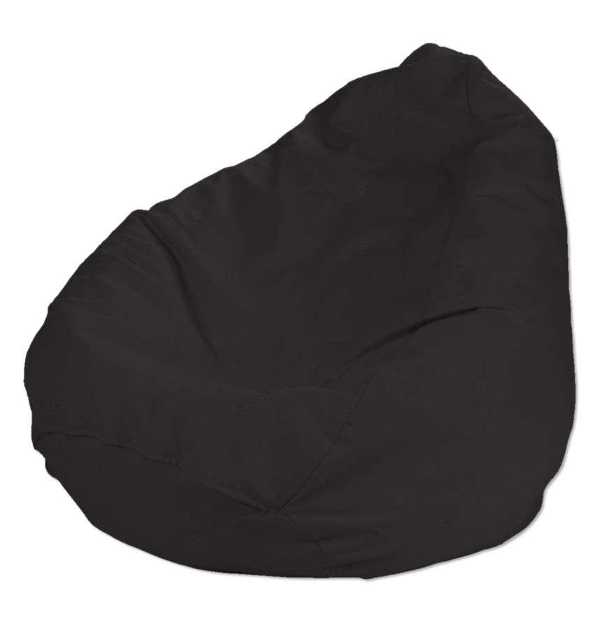 Pokrowiec na worek do siedzenia pokrowiec Ø50x85cm w kolekcji Cotton Panama, tkanina: 702-08