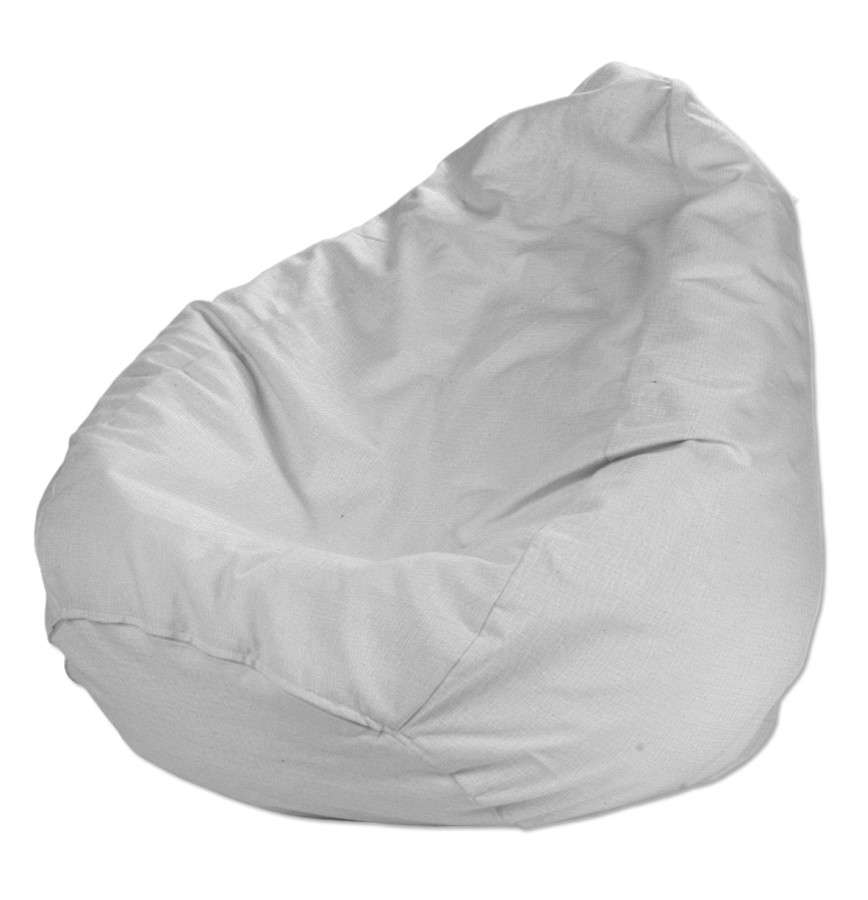 Pokrowiec na worek do siedzenia pokrowiec Ø50x85cm w kolekcji Linen, tkanina: 392-04