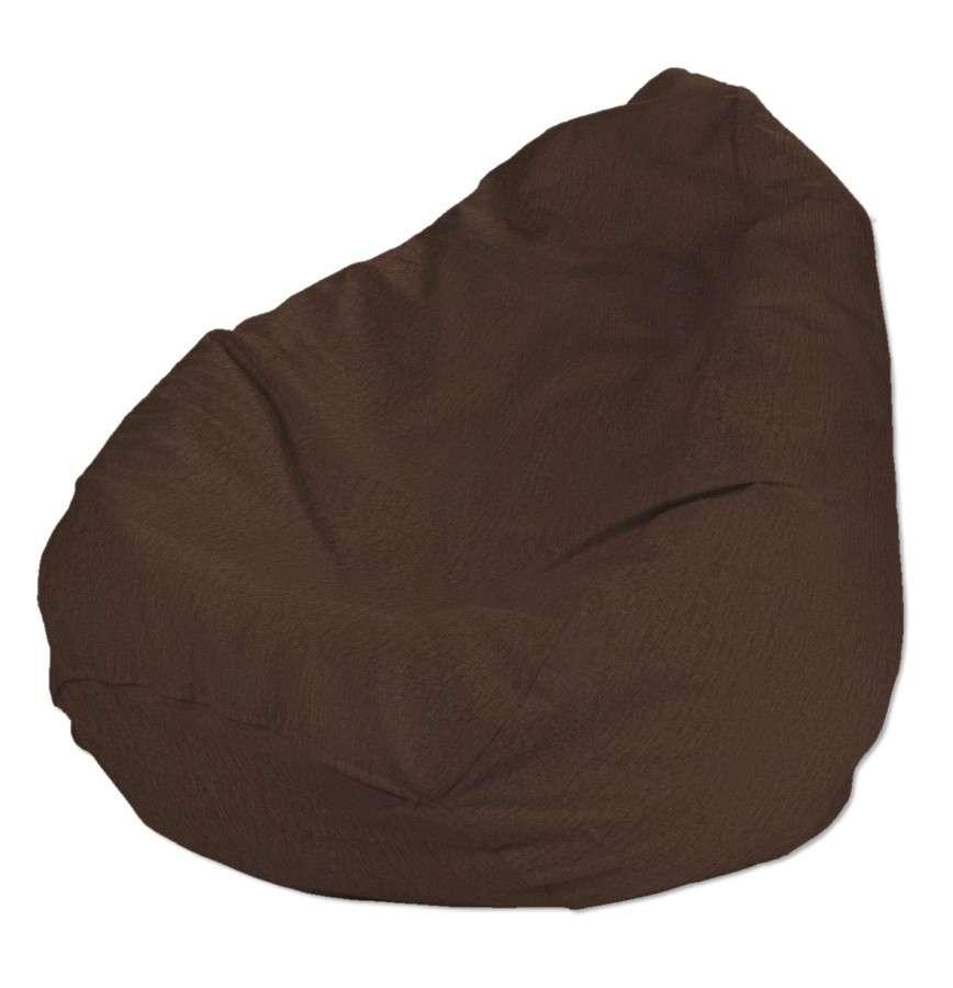 Pokrowiec na worek do siedzenia pokrowiec Ø50x85cm w kolekcji Chenille, tkanina: 702-18